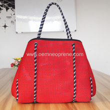 Red Waterproof High Quality Neoprene Beach Bags